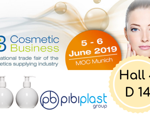 Pibiplast al Cosmetics Business Munich 2019